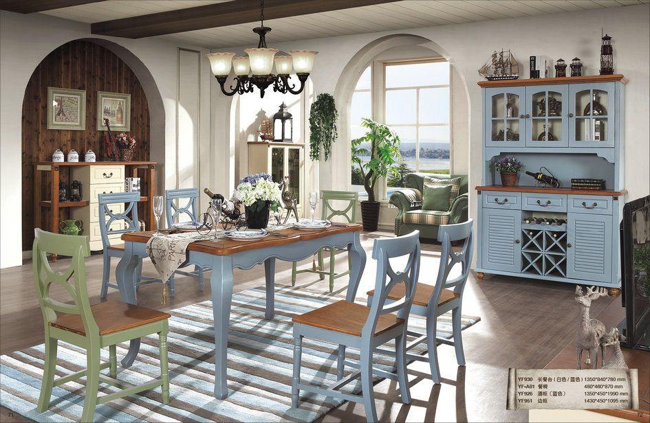 推荐几款地中海板木系列家具