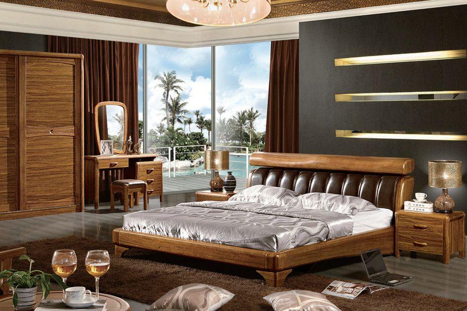 推荐DH虎斑木系列卧室家具,厂家直销