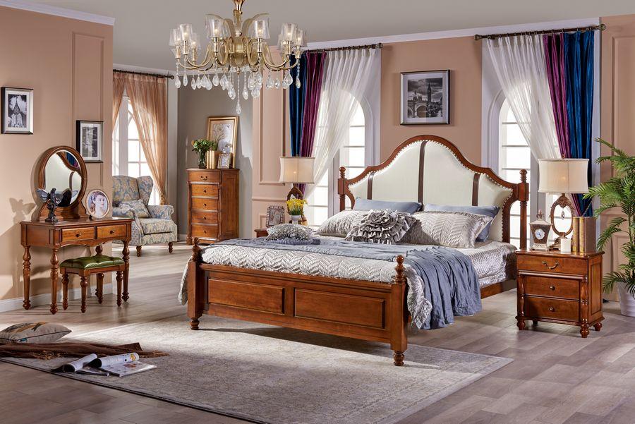 推荐畅销款美式橡木系列家具