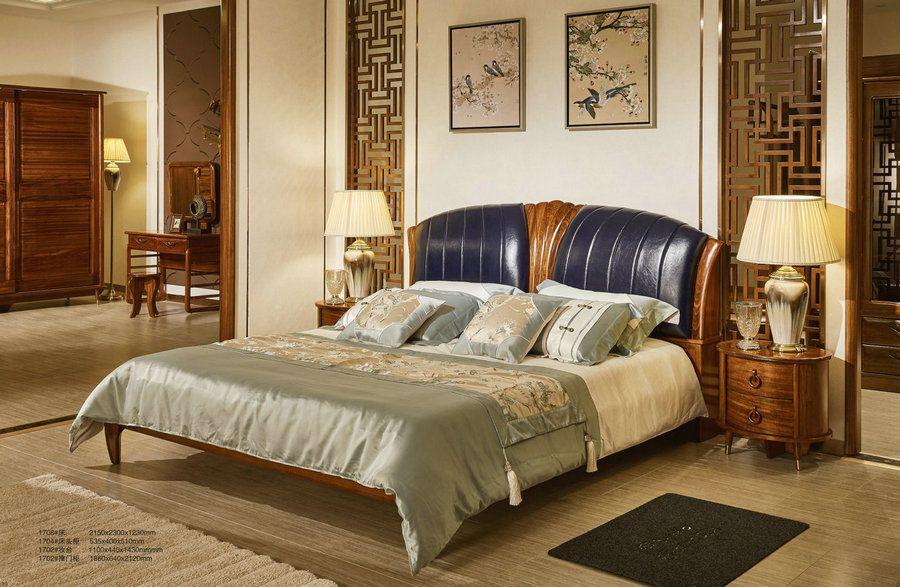 推荐纯实木乌金木系列中式新款家具
